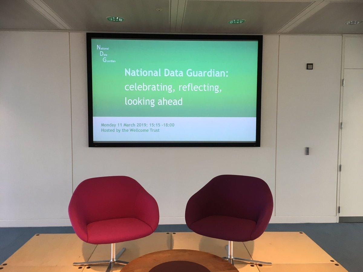 Passing of the National Data Guardian Act 2018