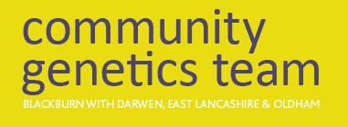 east lancs community genetics